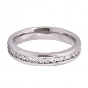 Aliança Namoro de Prata 950 AP6046
