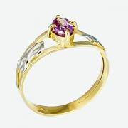Anel de Formatura em Ouro Amarelo 18k AF638
