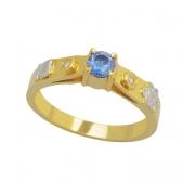 Anel de Formatura Ouro 18k   AF422