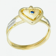 Anel de Ouro Amarelo 18k Formatura AF643
