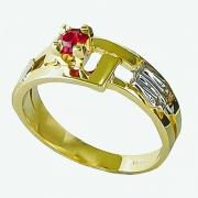 Anel Formatura de Ouro 18k AF351