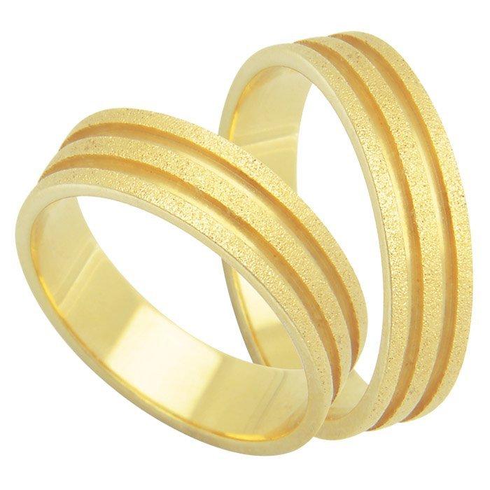 Aliança Casamento Essence Diamantada de Ouro 18k - Unitária (5mm)