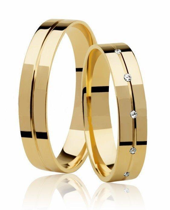 Aliança de Casamento Ágape em Ouro 18k Anatômica - Unitária (4mm)