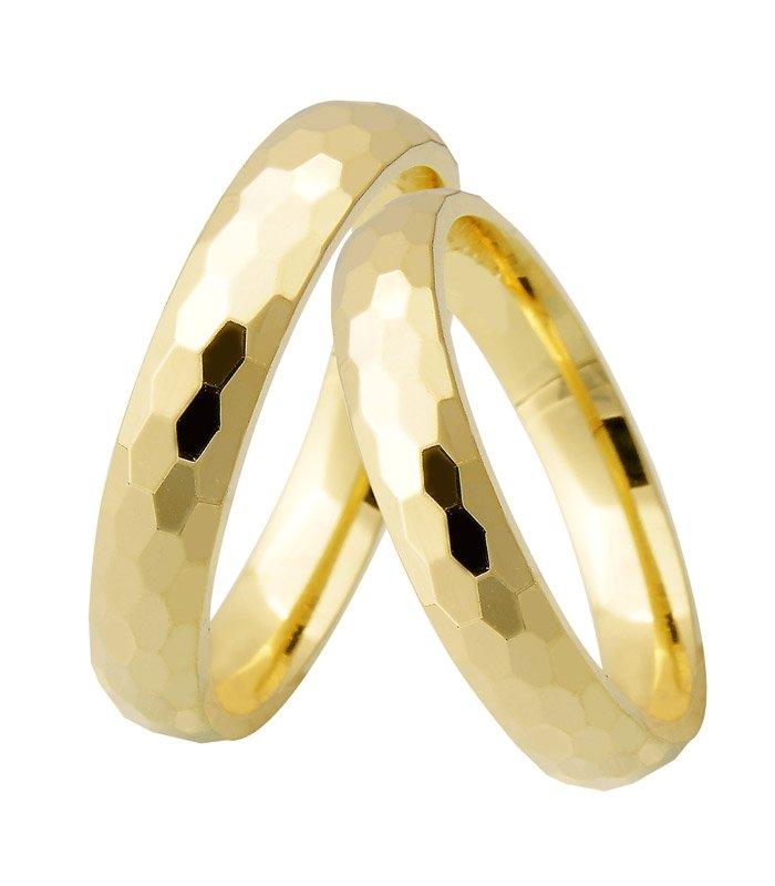 Aliança de Casamento Brightness Anatômica em Ouro 18k (4mm)