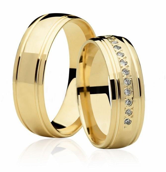 Aliança de Casamento Divine I Ouro Amarelo 18k - Unitária (6mm)