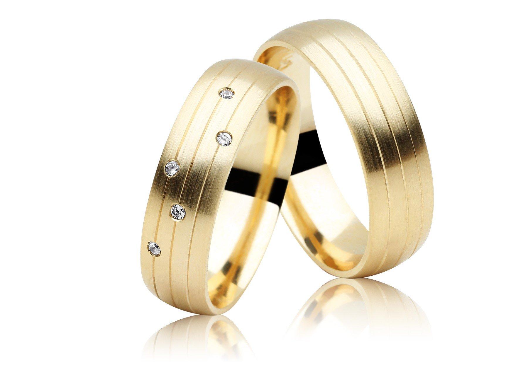 Aliança de Casamento Embrace em Ouro 18k Anatômica - Unitária (6mm)