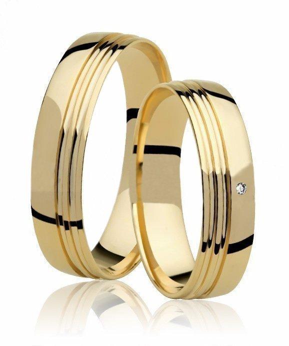 Aliança de Casamento For You Ouro 18k Anatômica - Unitária (4.75mm)