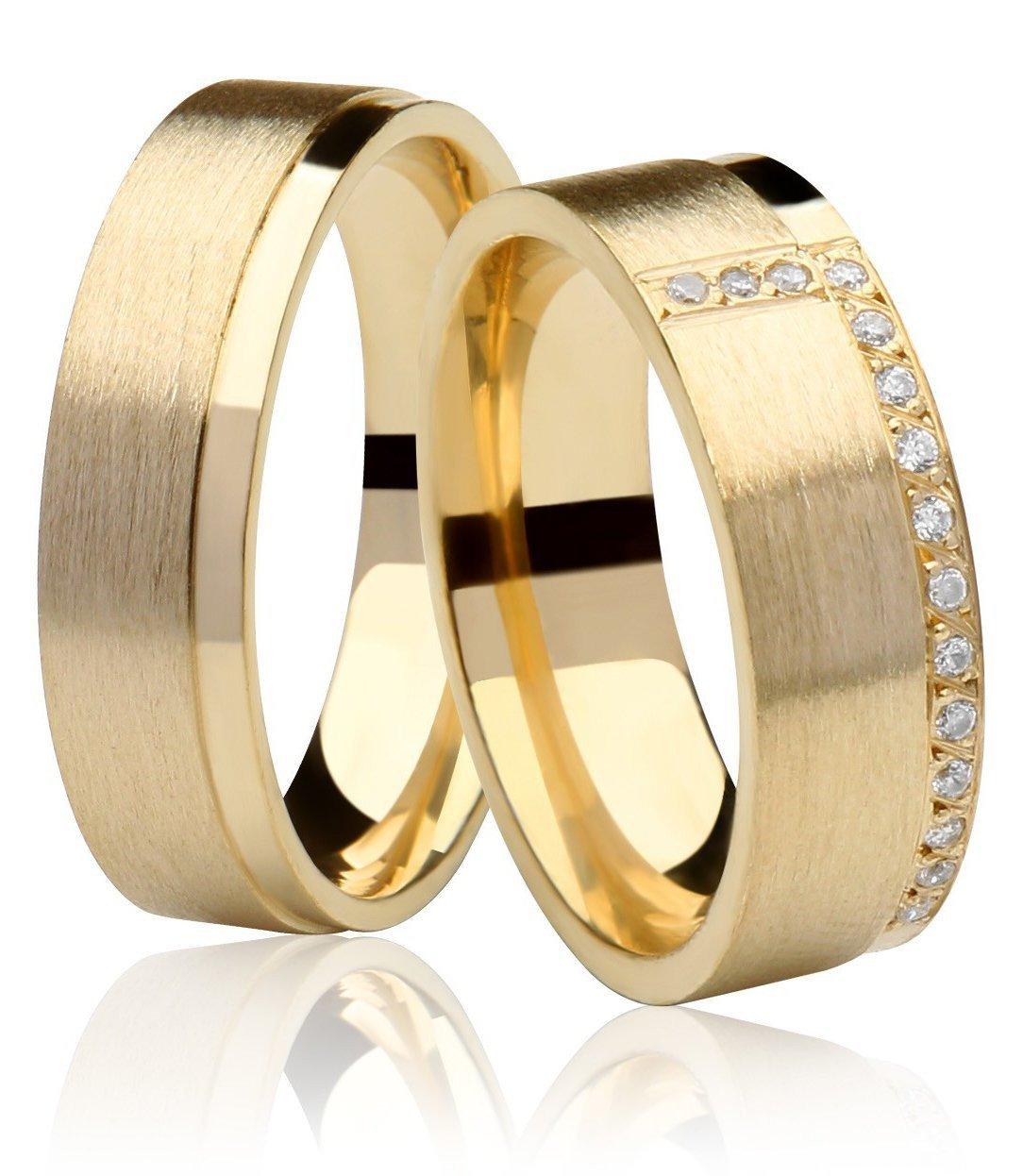Aliança de Casamento Fosca em Ouro 18k Radiant - Unitária (6.10mm)