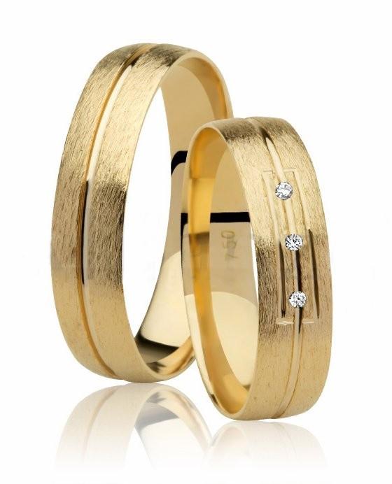 Aliança de Casamento Oui I Ouro Amarelo 18k  - Unitária (4.75mm)