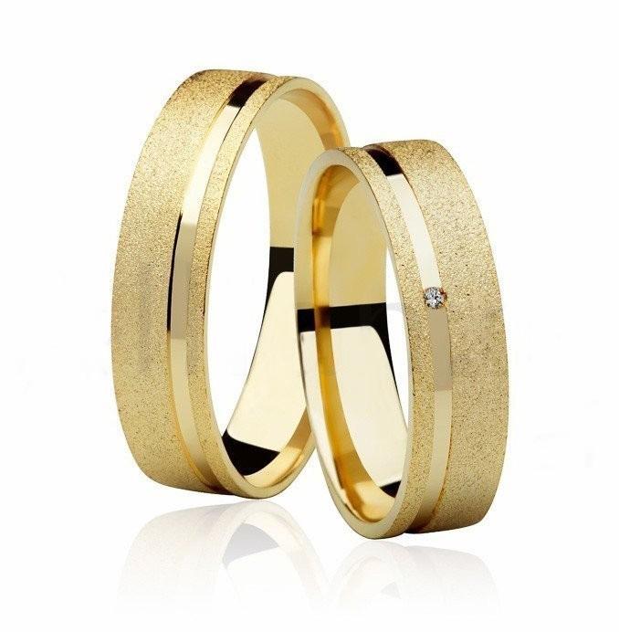 Aliança de Casamento Ouro 18k Anatômica Diamantado FRAME STONE V - Unitária (5mm)