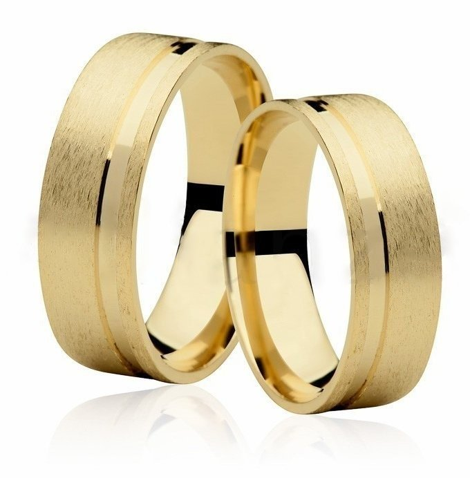 Aliança de Casamento Ouro 18k Anatômica EMOTION VI - Unitária (7mm)