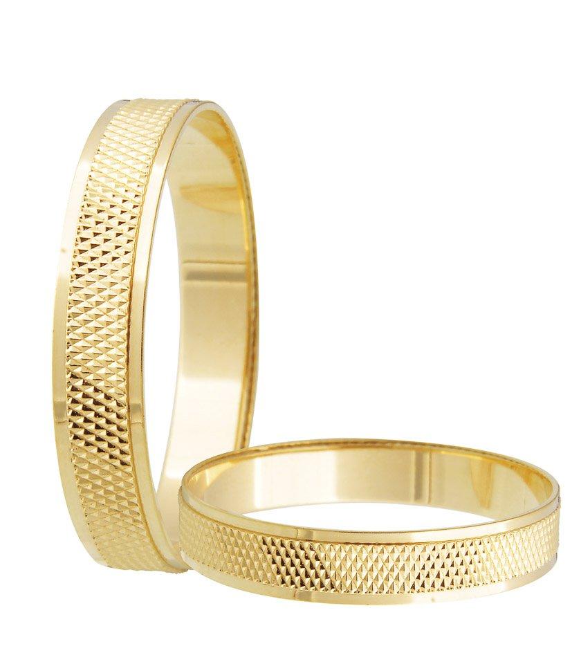 Aliança de Casamento Ouro Amarelo 18k - Unitária (3.75mm)