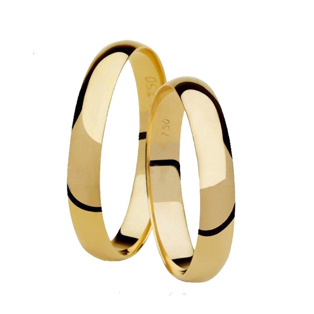 Aliança de Casamento Ouro Amarelo Classic (3mm)