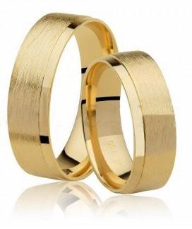 Aliança de Casamento Radiant em Ouro 18k  - Unitária (6.10mm)