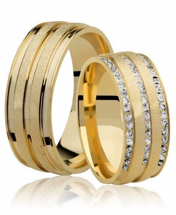 Aliança de Casamento Romance em Ouro 18k - Unitária (7.6mm)