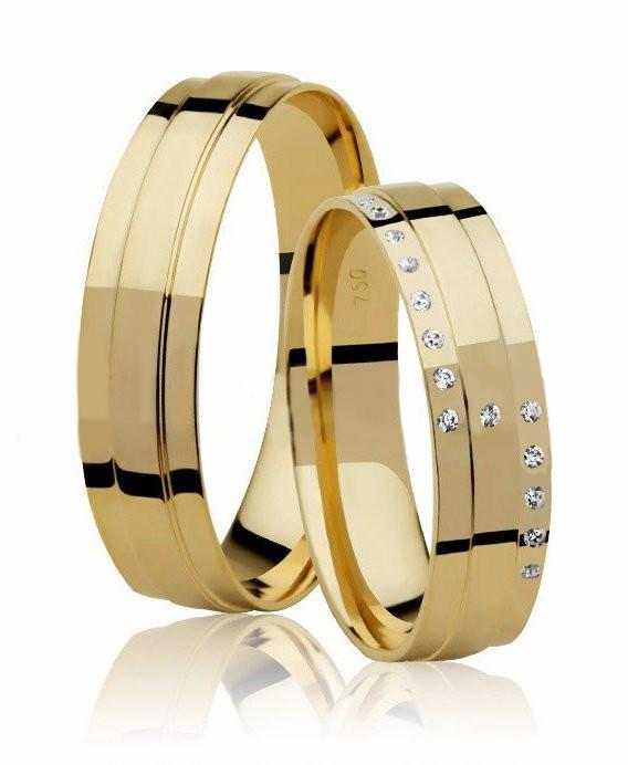 Aliança de Casamento Royal Ouro Amarelo 18k Anatômica - Unitária(5mm)