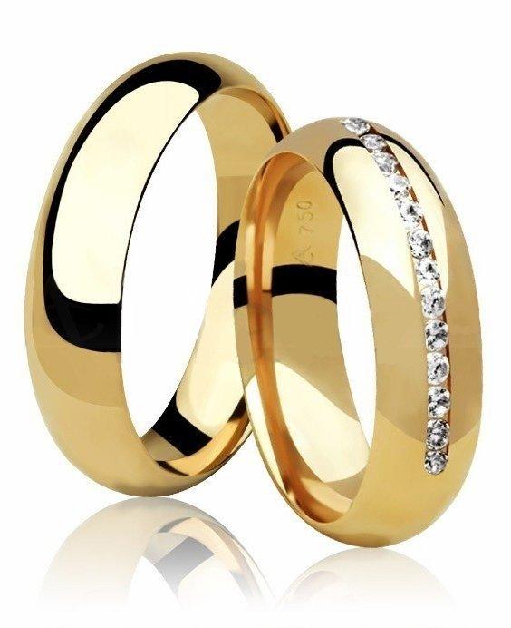 Aliança de Casamento Truss Ouro Amarelo 18k  - Unitária (5.5mm)