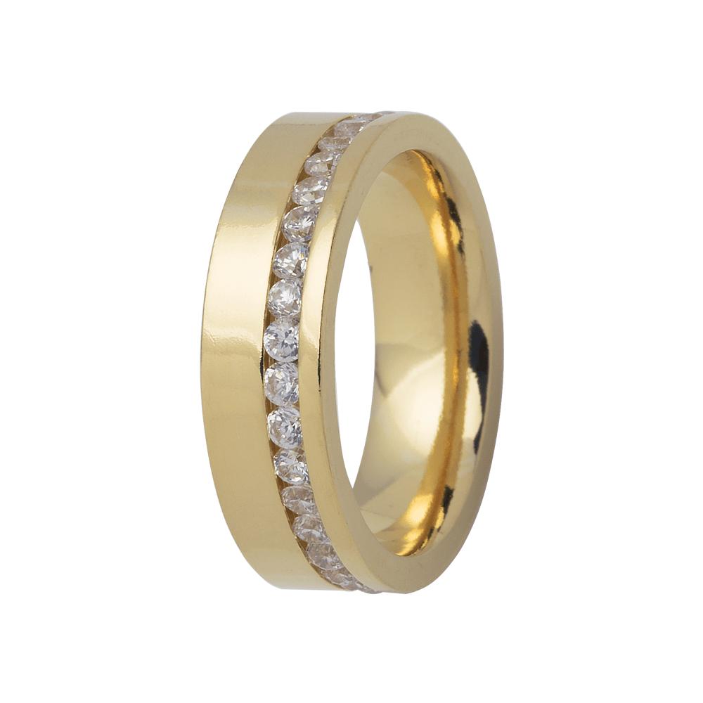 Aliança de Prata 950 Banhada a Ouro 24k Casamento AB7088