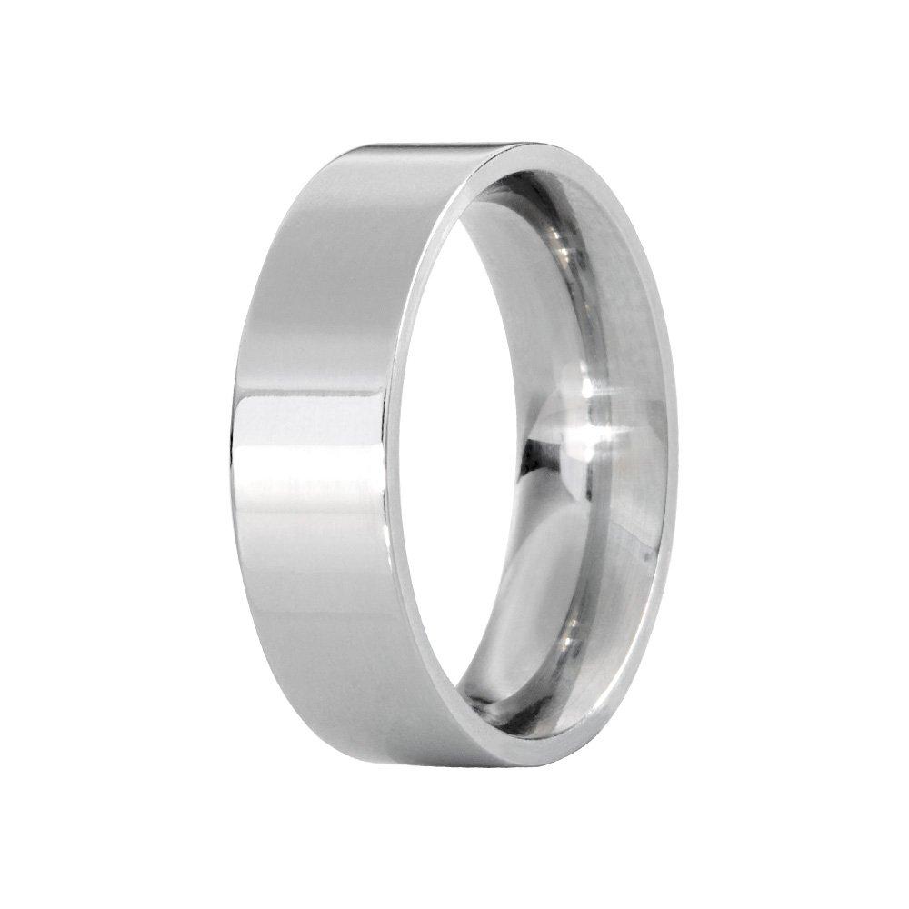 Alianças Compromisso de Aço Inox Reta Anatômica 6 mm AX098-1