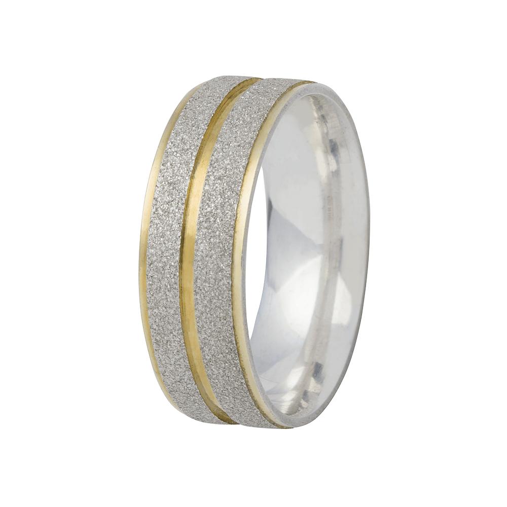 Alianças Namoro de Prata 950 Diamantada AP6000