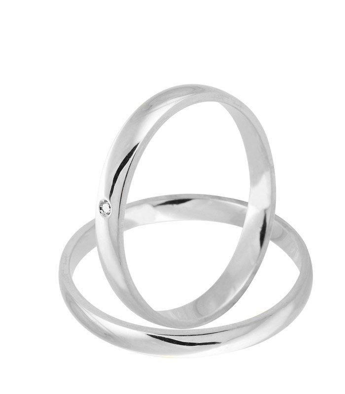 Alianças Namoro Love de Prata 950 Fina AP6038