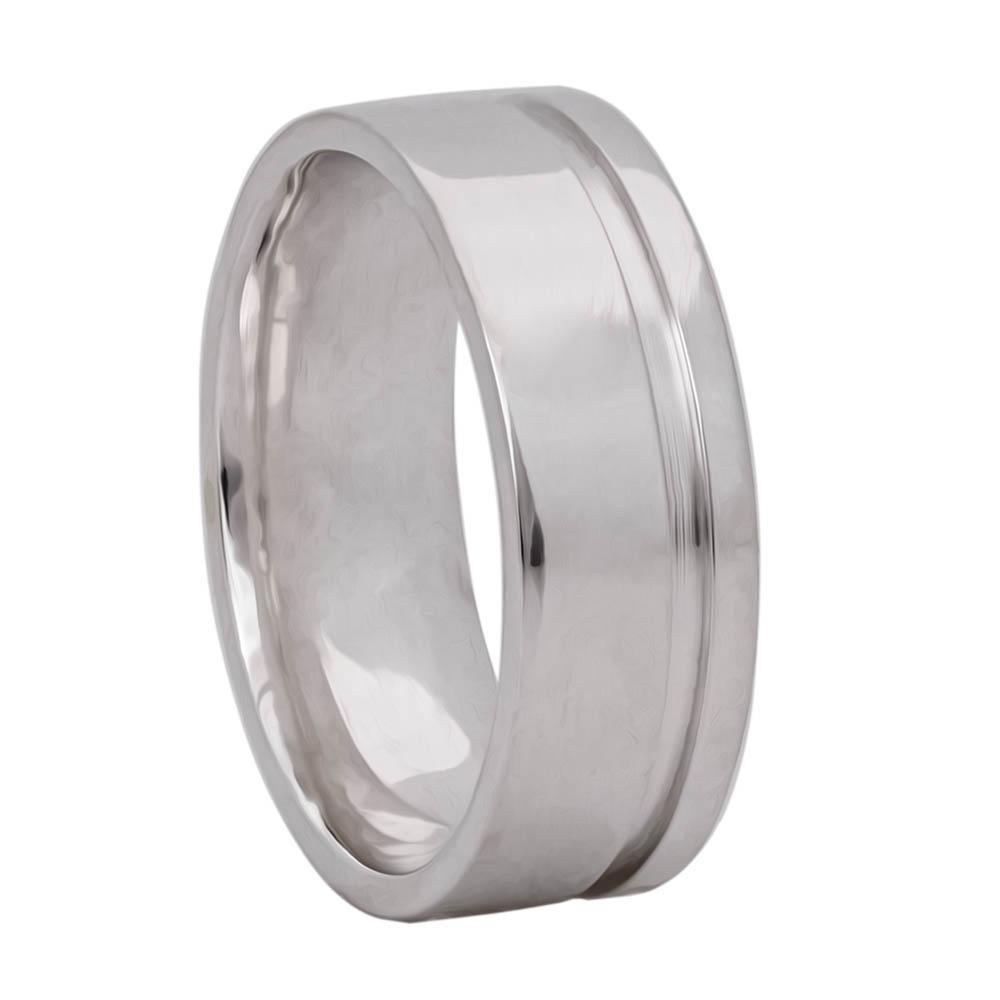 Alianças Namoro Silver de Prata 950 6 mm AP6081