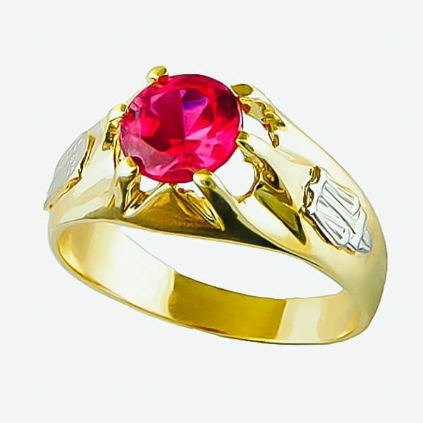Anel de Formatura em Ouro Amarelo 18k AF577