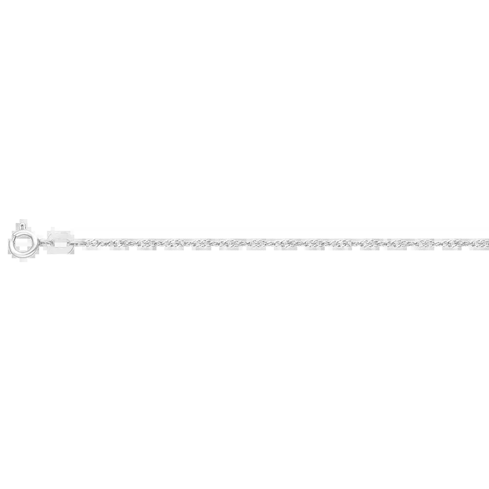 Corrente Ouro Branco 40 cm