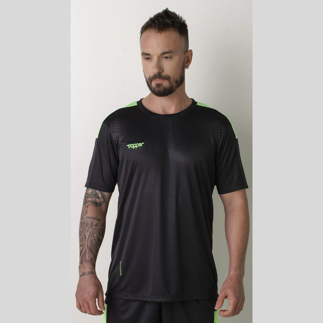 Camisa Topper Dominator Masculina - Preto