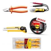 Kit 01 de ferramentas para elétrica - Tramontina