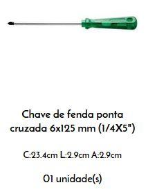 Jogo Chave de Fenda 5 pçs PRO - TRAMONTINA