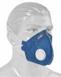 Kit c/ 10 unidades de Máscaras respiratória pff1 com válvula - PROTEPLUS