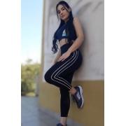 Calça Legging Feminina Skinny Preta