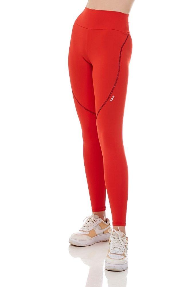Calça Legging Feminina Vermelha
