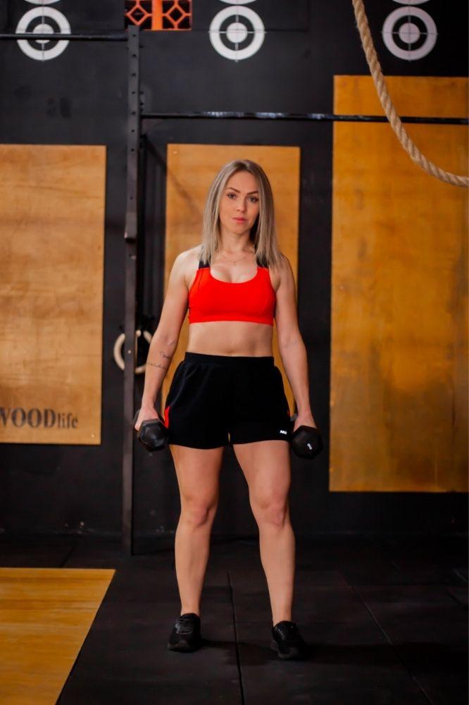 Top Fitness Vermelho com Preto