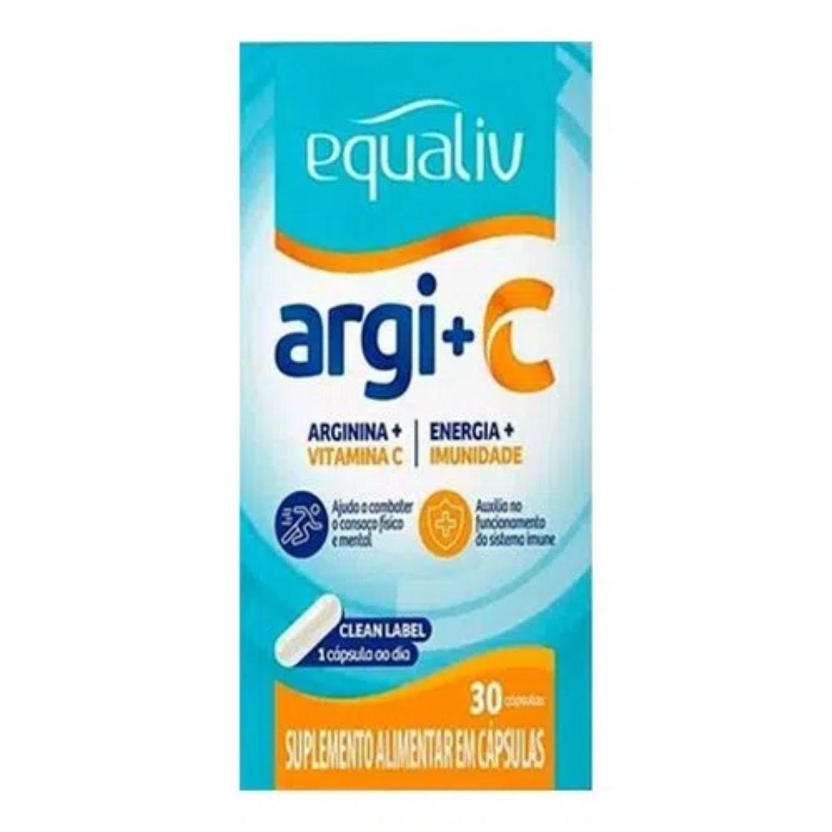 ARG+C 60CAPS EQUALIV