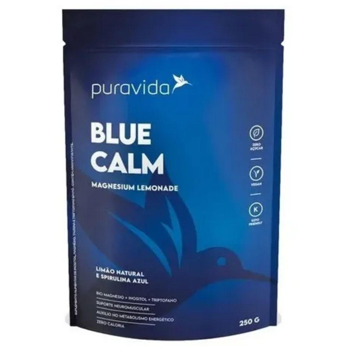 BLUE CALM 250G -  PURAVIDA