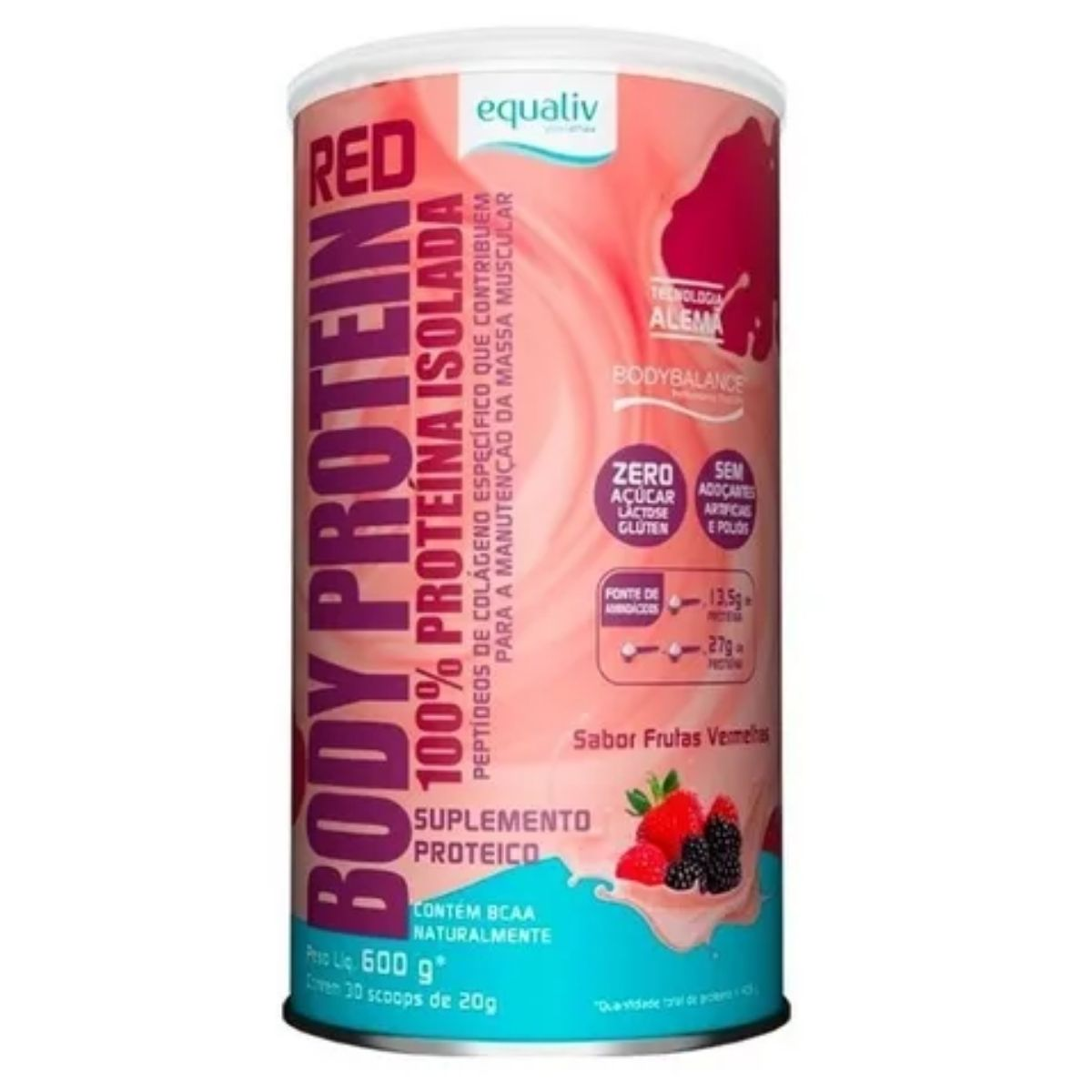 BODY PROTEIN RED 600G