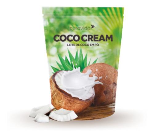 COCO CREAM   LEITE DE COCO 250 GRS PURA VIDA
