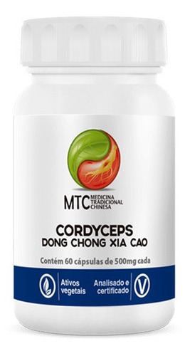 CORDYCEPS DONG CHONG XIA CAO 60CPS 500MG VITAFOR