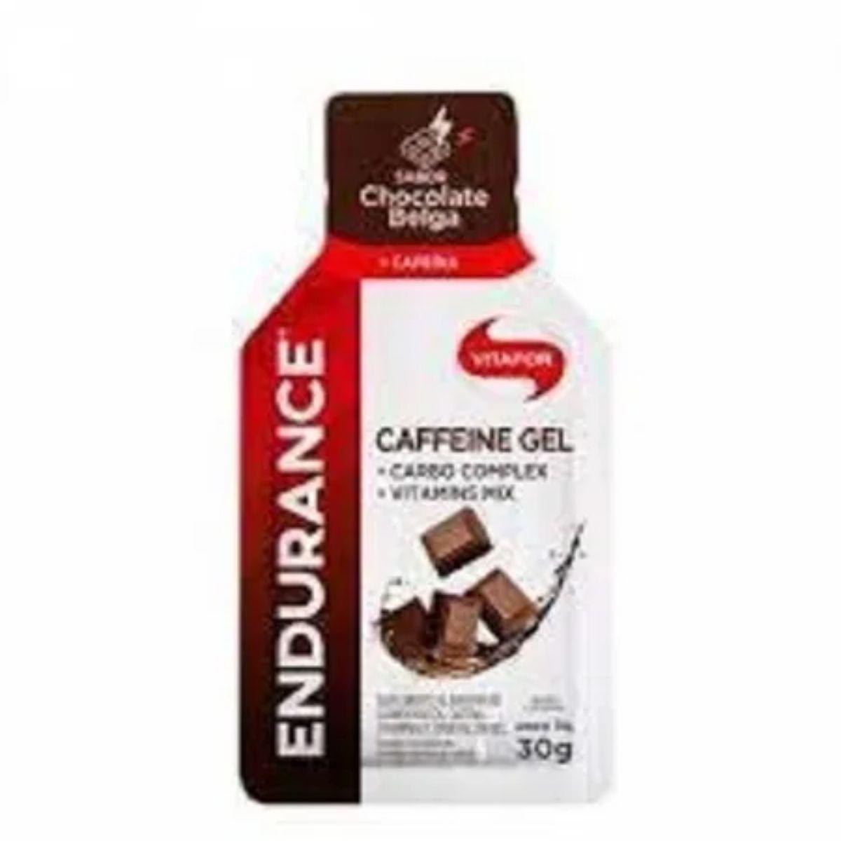 ENDURANCE  CAFFEINE GEL 30G CHOCOLATE BELGA VITAFOR