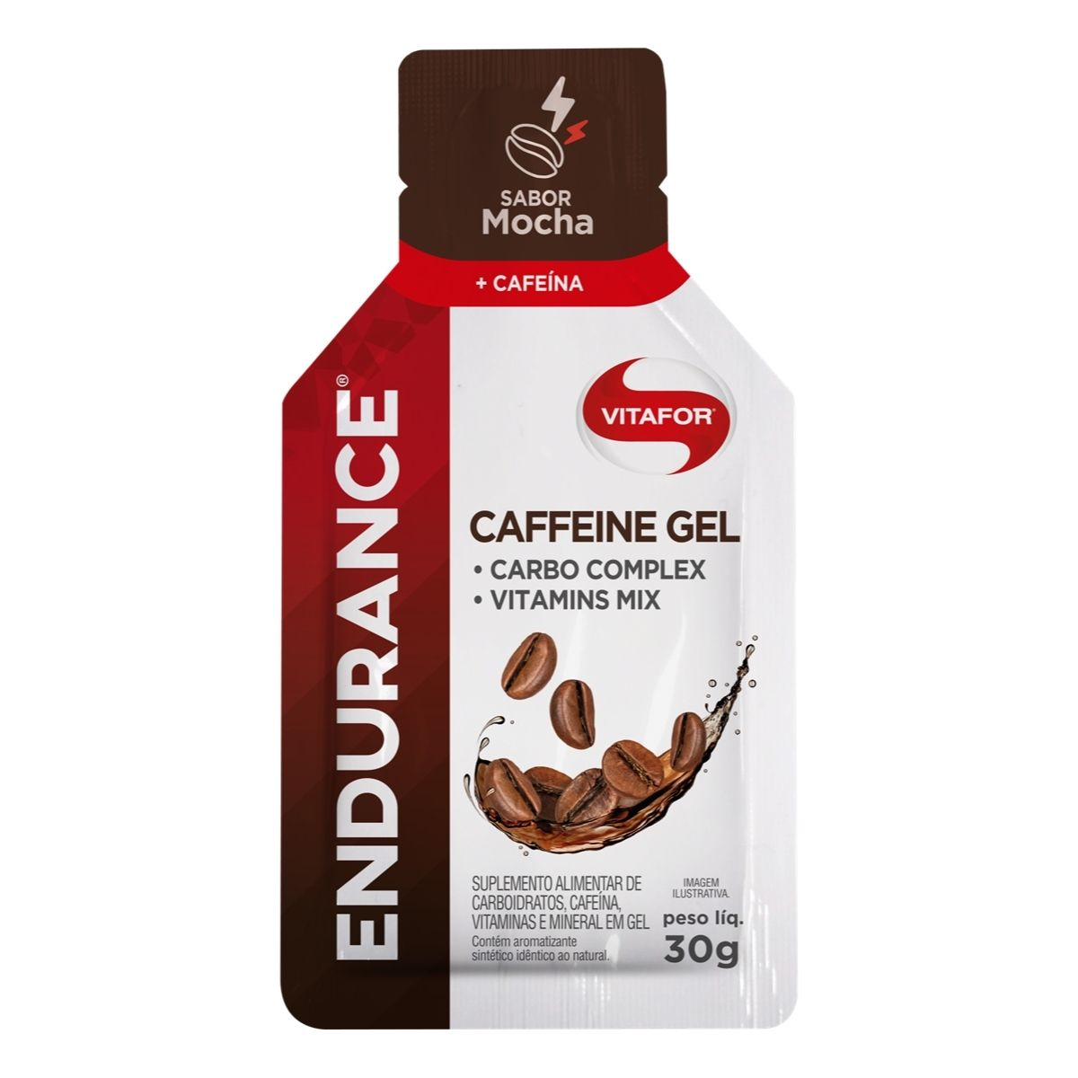 ENDURANCE CAFFEINE GEL SACHE 30G MOCHA VITAFOR