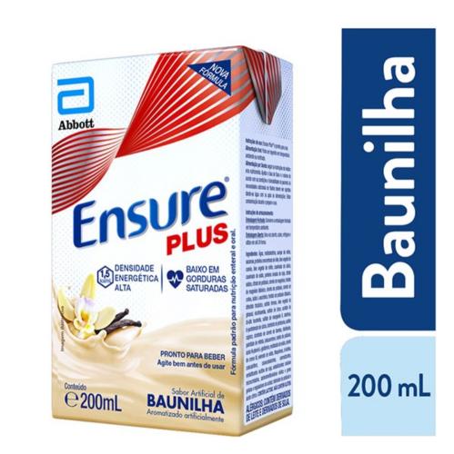 ENSURE PLUS BAUNILHA TP 200ml