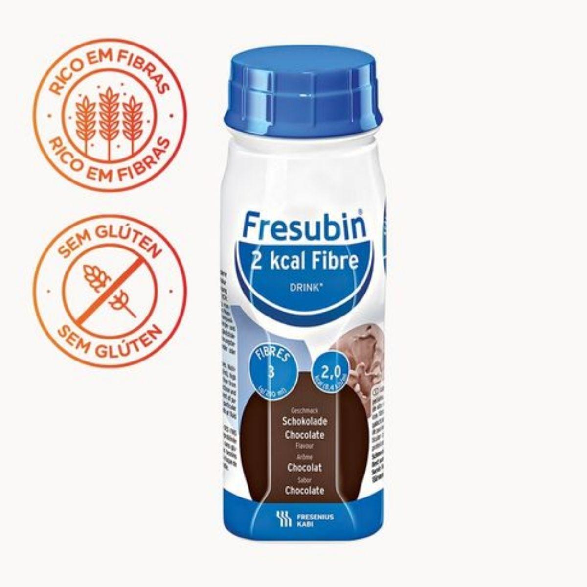 FRESUBIN 2 KCAL FIBRE DRINK CHOCOLATE  200ML