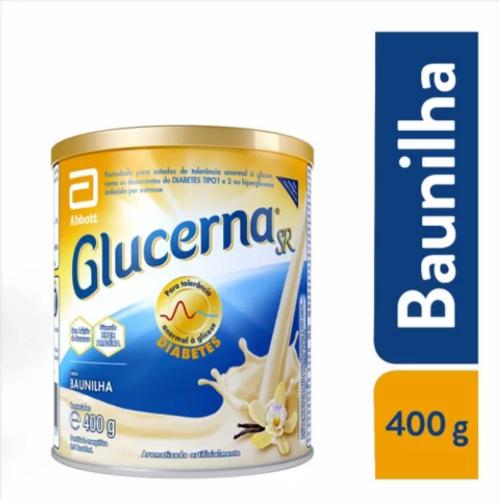 GLUCERNA PO BAUNILHA 400g