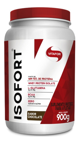 ISOFORT 900g CHOCOLATE VITAFOR