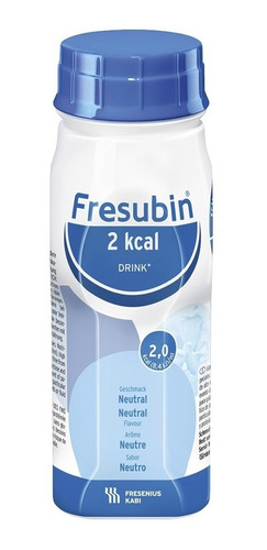 KIT FRESUBIN 2KCAL DRINK NEUTRO 200ML - 10 UNID