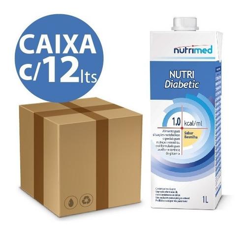 KIT NUTRI DIABETIC BAUNILHA 1.0 - 1L - 12 UNID