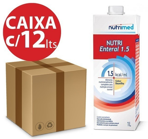 KIT NUTRI ENTERAL 1.5 - 1L - 12 UNID