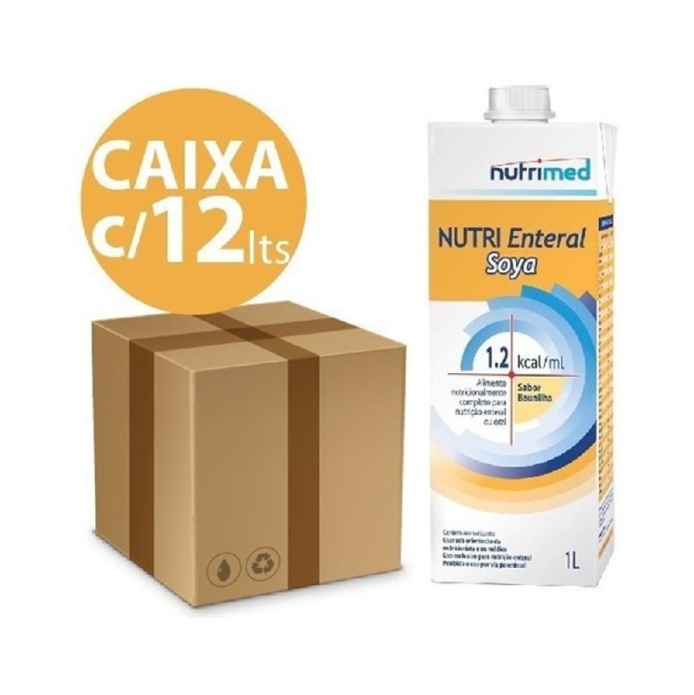 KIT NUTRI ENTERAL SOYA 1.2 - 1L - CAIXA COM 12 UNIDADES